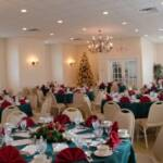 Our on-premise banquet hall holiday party