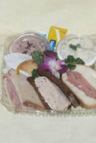 Honey Baked Ham Pound Cake Sampler
